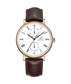 Love Story Multi-Function Quartz Leather Watch