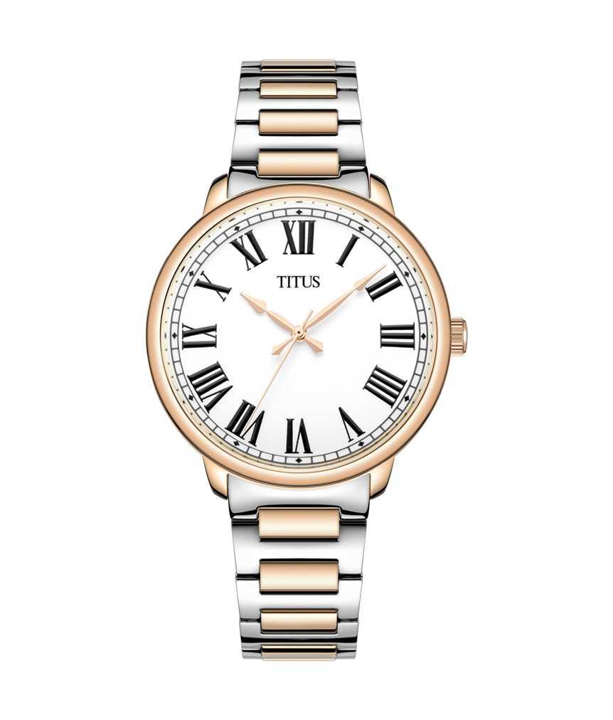 Zeitgeist 3 Hands Quartz Stainless Steel Watch