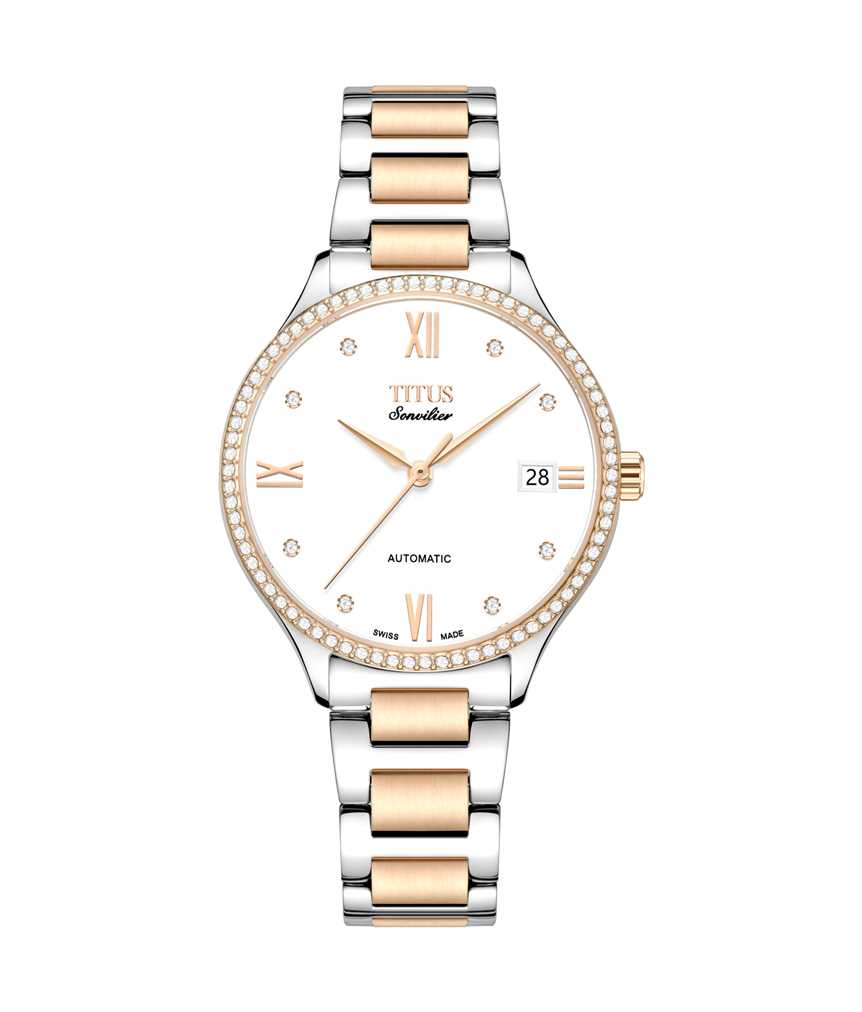 Sonvilier 3 Hands Date Mechanical Stainless Steel Watch