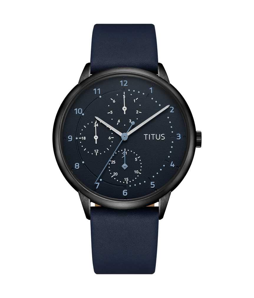 Nordic Tale Multi-Function Quartz Leather Watch