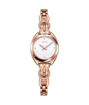 「約定」系列兩針石英不鏽鋼腕錶