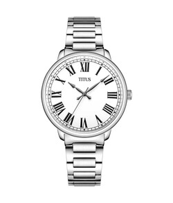 Zeitgeist 3 Hands Quartz Stainless Steel Watch