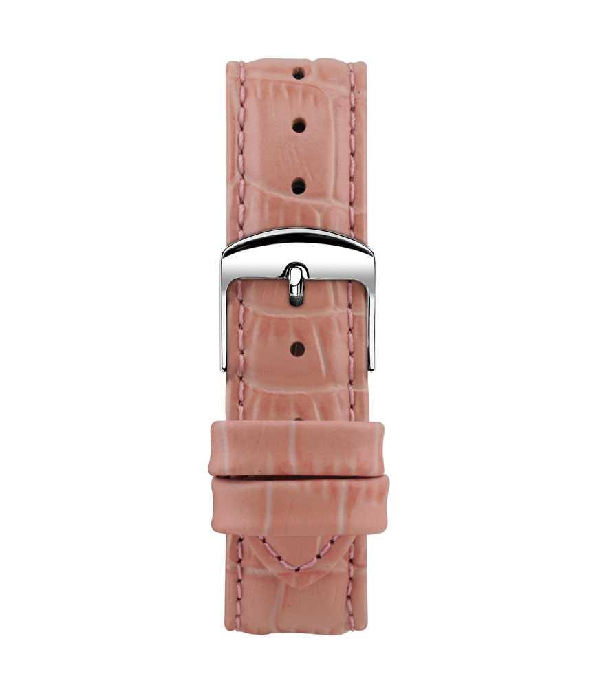 Montella 18 mm Light Pink Leather Strap
