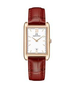 Classicist 2 Hands Date Quartz Leather Watch
