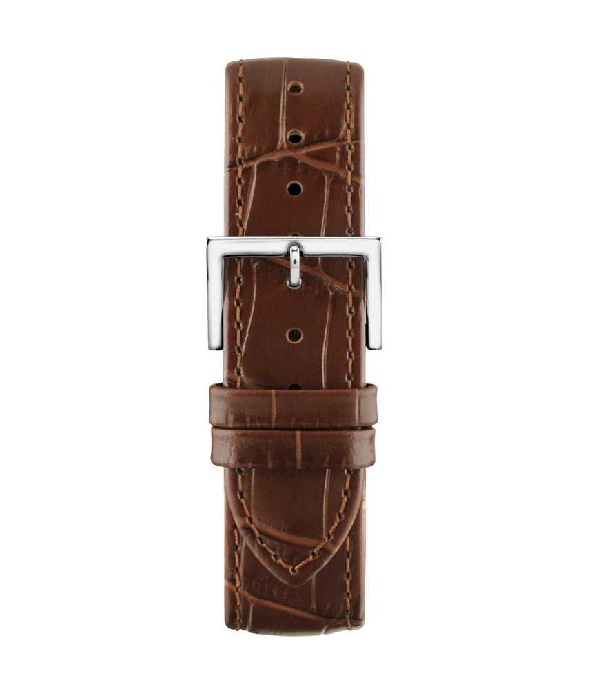 Montella 20 mm Brown Leather Strap