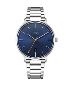 Nordic Tale 3 Hands Date Quartz Stainless Steel Watch