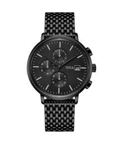Interlude Chronograph Quartz Stainless Steel Watch