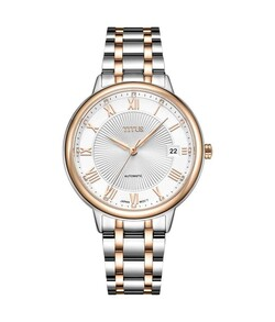 Fair Lady 3 Hands Date Mechanical Stainless Steel Watch