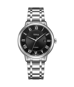 Exquisite 3 Hands Date Mechanical Stainless Steel Watch