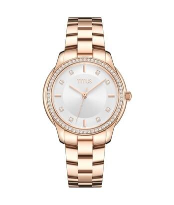 Fair Lady三針石英不鏽鋼腕錶