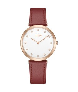 Fashionista 2 Hands Quartz Leather Watch