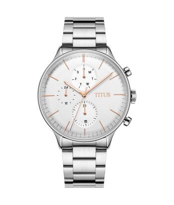 Interlude多功能石英不鏽鋼腕錶