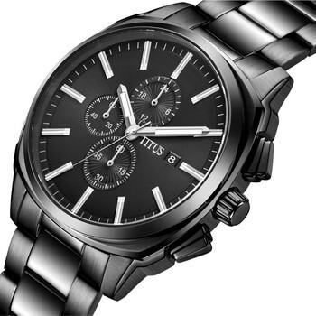Modernist計時石英不鏽鋼腕錶