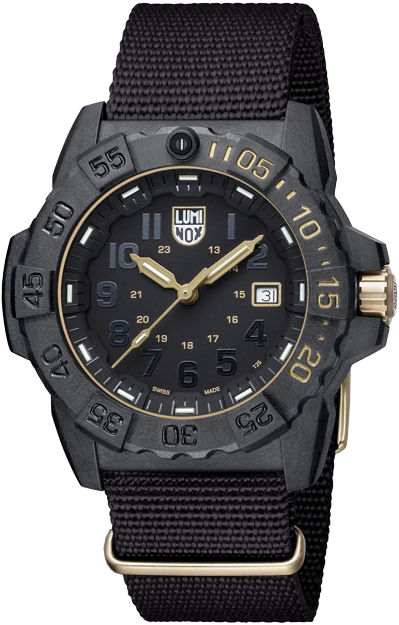 Luminox NAVY SEAL 3500 GOLD SET