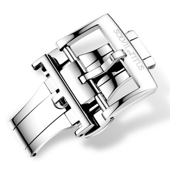 14mm Stainless Steel Butterfly Watch Clasp