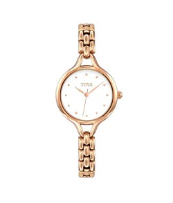 Fair Lady 3 Hands Quartz Stainless Steel Watch