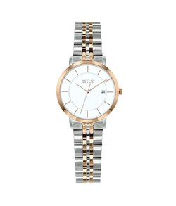 Classicist 3 Hands Date Quartz Stainless Steel Watch