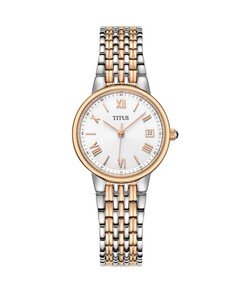 Fair Lady 3 Hands Date Quartz Stainless Steel Watch