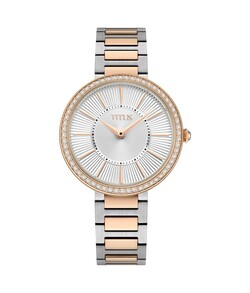 Fair Lady 2 Hands Quartz Stainless Steel Watch
