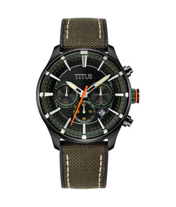 Saber Chronograph Quartz NATO Strap Watch