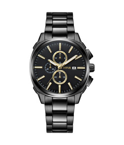 Modernist Chronograph Quartz Stainless Steel Watch