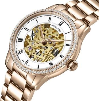 Enlight 3 Hands Mechanical Stainless Steel Watch