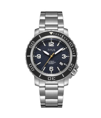The Cape 3 Hands Date Mechanical Stainless Steel Watch