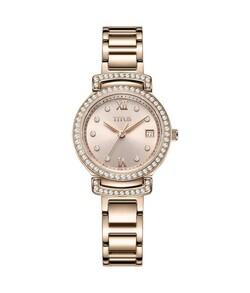 Fair Lady三針日期顯示石英不鏽鋼腕錶