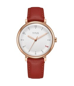 Nordic Tale 3 Hands Quartz Leather Watch