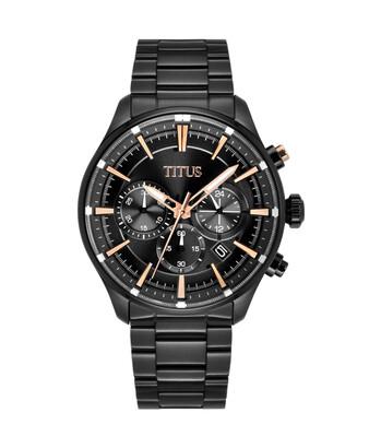 Saber Chronograph Quartz Stainless Steel Watch