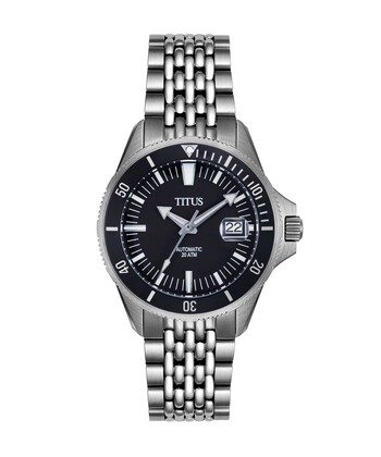 Valor 3 Hands Date Mechanical Stainless Steel Watch