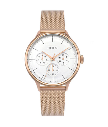 Muse Multi-Function Quartz Stainless Steel Watch